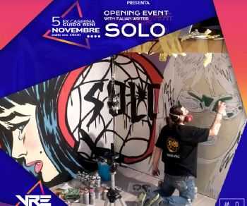 Mostre: Visualart: Solo's Virtual Live Painting