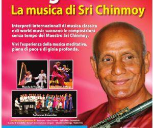 Artisti internazionali di classica e world music interpretano la musica meditativa del Maestro Sri Chinmoy