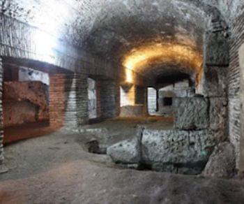 """I templi """"ipogei"""" di Giunone Sospita, Giano e Spes e la leggenda di Ercole e Caco"""