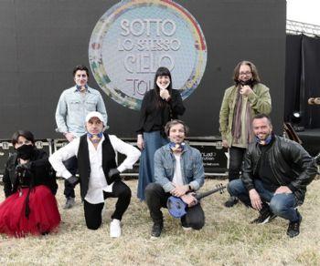 """Spettacoli - """"Sotto lo stesso cielo Tour"""" approda a Ostia"""