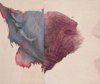 Una serie inedita di dittici della pittrice Georgina Spengler