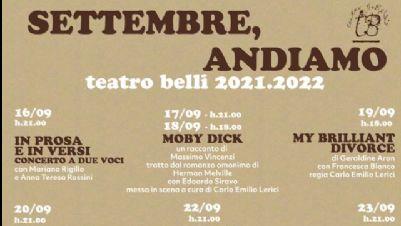 Spettacoli - La 51/a stagione del Teatro Belli