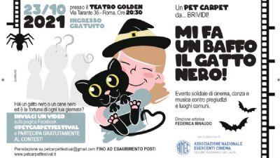 Spettacoli - Un Pet Carpet da brividi. Mi fa un baffo il gatto nero!