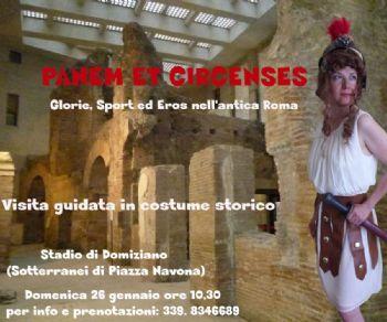 Visite guidate - Panem et Circense