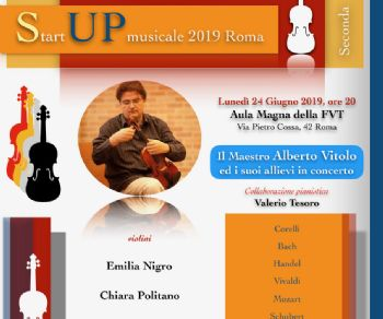 Concerti - Start Up Musicale 2019