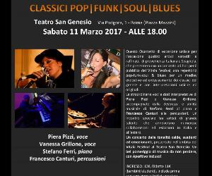 Classici, pop, funk, soul, blues