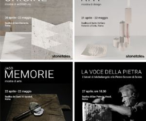 Architettura, arte, design in pietra