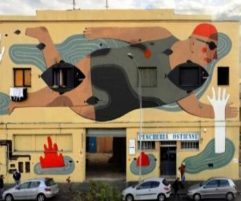 """Visite guidate: """"Street Art a Roma"""": Ostiense e le sue opere"""