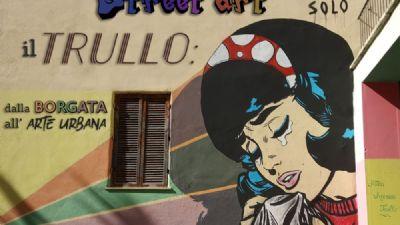 Visite guidate: La Street Art Trullo: dalla borgata all'arte urbana