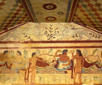 Gita a Tarquinia in pullman pranzo incluso. Necropoli Museo e quartiere medievale