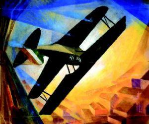 60 opere del Maestro dell'Aeropittura