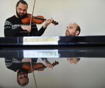 """Concerti - Musiche per violino e pianoforte a """"Note in Biblioteca"""""""