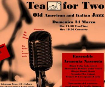 Concerti - Tea For Two. L'Ensemble Armonia Nascosta in concerto