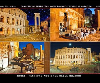 Concerti - Concerti del Tempietto. Festival musicale delle Nazioni