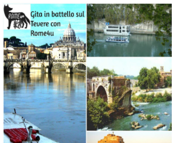 Visite guidate - Gita in battello sul Tevere con visita guidata
