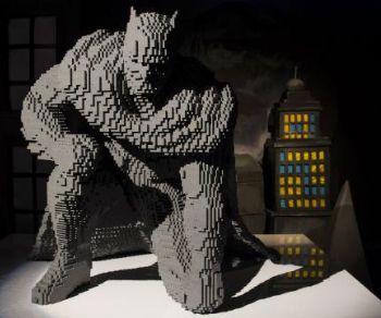 Mostre - The Art of the Brick - DC Super Heroes