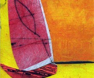 Questa mostra vede l'artista auto-esporsi nell'atto di dipingere un quadro