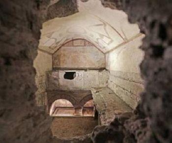 Visite guidate - I sotterranei affrescati della Via Latina