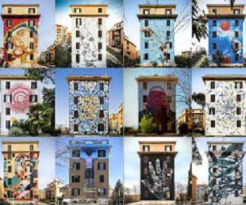 Visite guidate - Roma da Vivere: visita guidata ai Murales di Tor Marancia