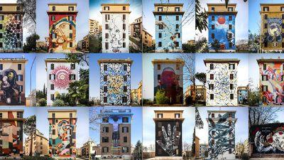 Visite guidate - Murales di Tor Marancia