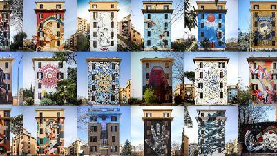 """Visite guidate - """"Big City Life"""": un progetto corale di arte urbana partecipata"""