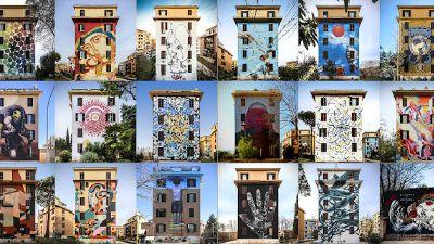 """Visite guidate - Visita guidata ai Murales di Tor Marancia: """"Big City Life"""""""