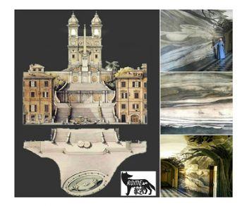 Visite guidate - Le anamorfosi e il Refettorio di Andrea Pozzo nel Convento di Trinità dei Monti