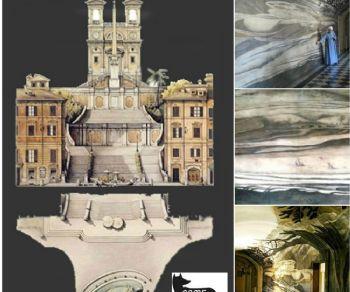 Anamorfosi criptiche e segreti incanti di Trinità dei Monti