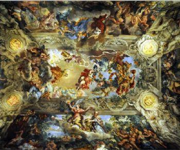 Il Palazzo che vede la mano di Carlo Maderno, Borromini e Bernini