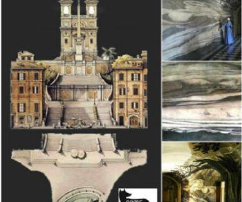 Visite guidate - Illusioni prospettiche, anamorfosi criptiche e segreti incanti di Trinità dei Monti