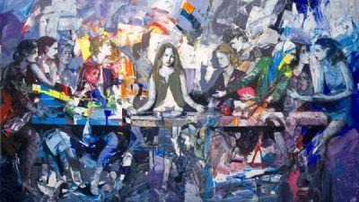 Gallerie - Presentazione Ultima Cena di Antonio Tamburro