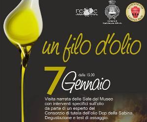 Visite guidate: Un filo d'olio - Museo dell'Olio della Sabina
