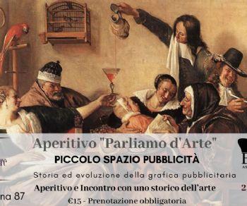 """Visite guidate - Aperitivo """"Parliamo d'arte"""": piccolo spazio pubblicità"""