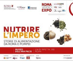 La mostra, ideata in occasione dell'EXPO 2015, racconta il mondo dell'alimentazione in età imperiale intorno al bacino del mediterraneo