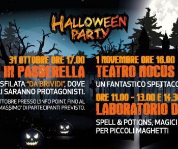 Bambini e famiglie - Halloween Party a Valmontone Outlet