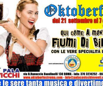 Sagre e degustazioni - Oktoberfest al PalaCavicchi di Ciampino