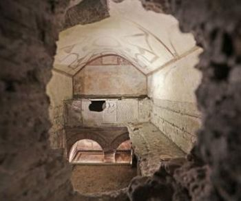 Visite guidate - I sotterranei affrescati della Via Latina e i resti della Villa degli Anicii