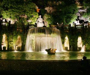 Grande festa notturna a Villa Gregoriana