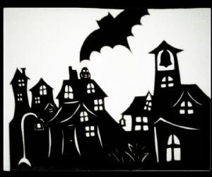 Un racconto animato con spaventose ombre di simpatici fantasmi!