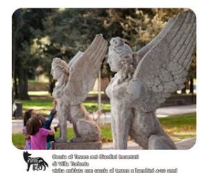 Bambini e famiglie: Caccia al tesoro nei giardini incantati di Villa Torlonia e della Casina delle Civette