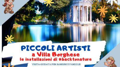 Visite guidate - Piccoli artisti a Villa Borghese
