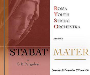 """Concerti - """"Stabat Mater"""" di Giovan Battista Pergolesi con la Roma Youth String Orchestra"""