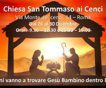 Una particolare iniziativa nella Chiesa San Tommaso ai Cenci