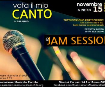 Serate - VOTA IL MIO CANTO e JAM SESSION