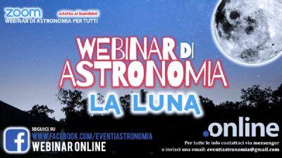 Appuntamenti virtuali - WEBINAR ASTRONOMICA