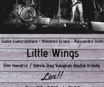 Locali - Little Wings (Double Tribute Jimi Hendrix/ Stevie Ray Vaughan)