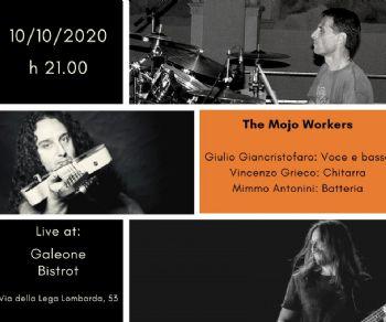 Locali: Mojo Workers Blues trio live