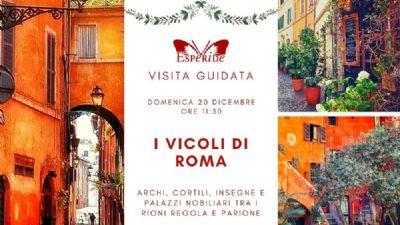 Visite guidate - I vicoli di Roma
