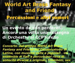 Un ensemble di fiati e percussioni ricca di sonorità diverse