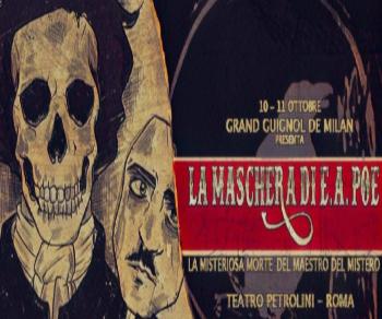 Spettacoli - La maschera di Edgar Allan Poe